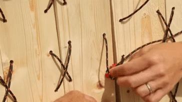 bois ficelle DIY