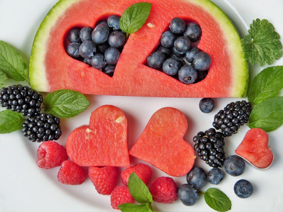 Fruits coeur