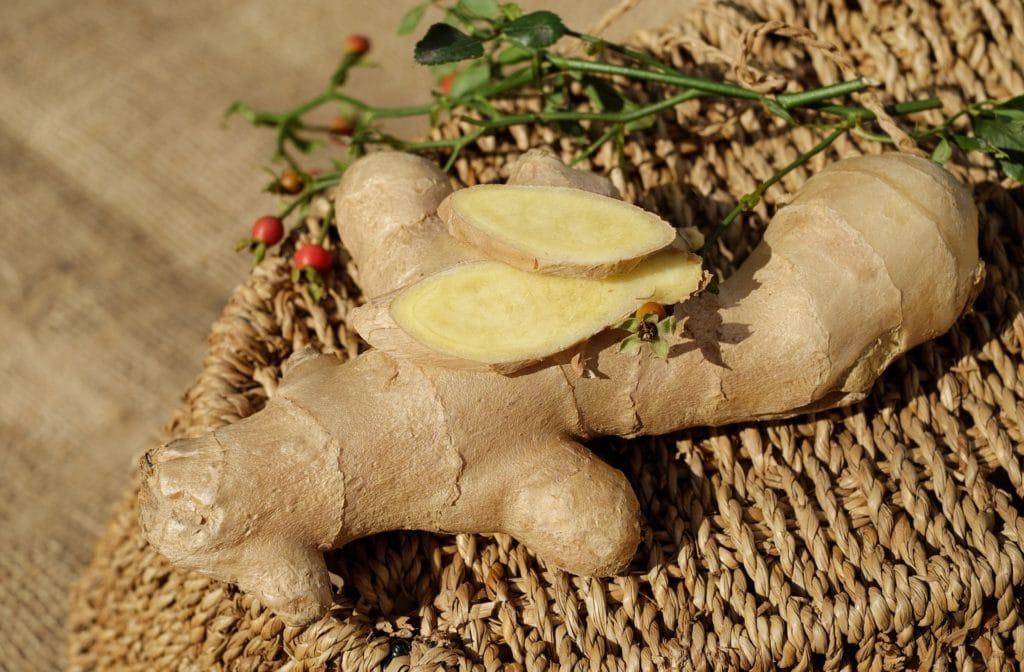 gingembre Plantes aphrodisiaques