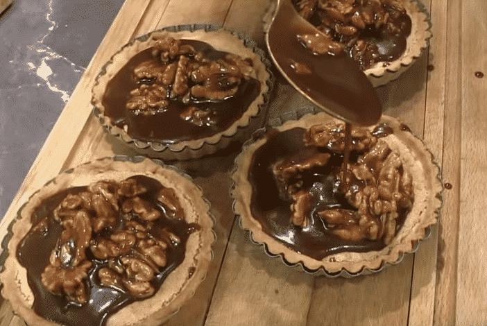 tartelettes noix caramel