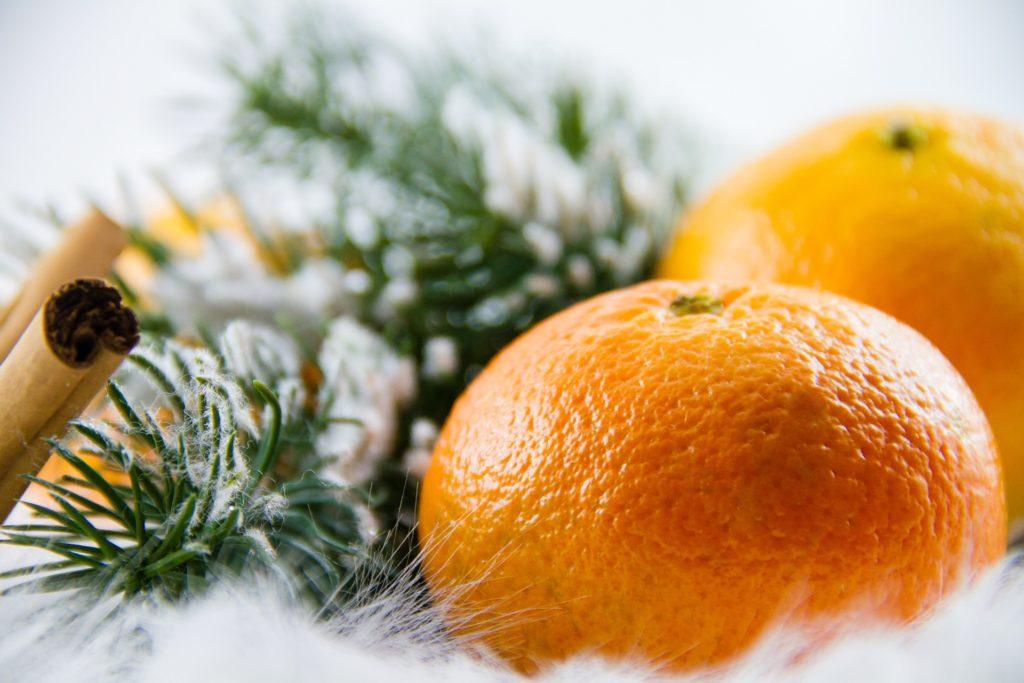 mandarine noël hiver
