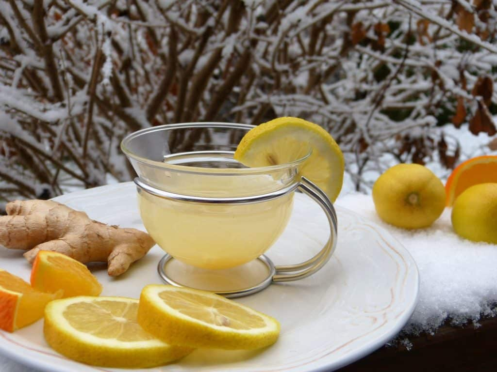 citron gingembre thé tisane