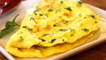 omelette blette curcuma
