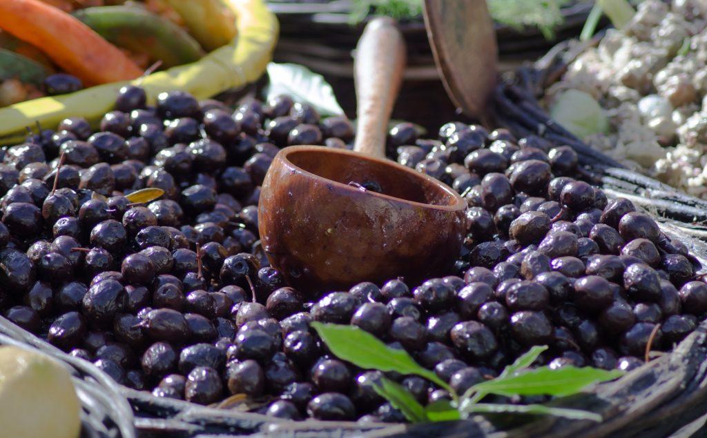 olives noires saumure