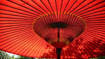 parasol ombre jardin