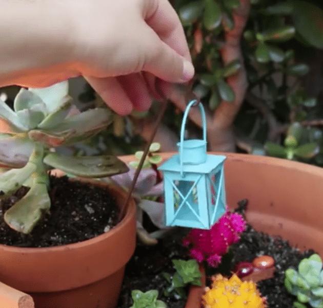 pot cassé jardin