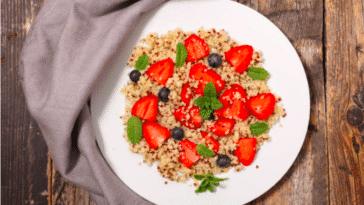 salade de quinoa fraises