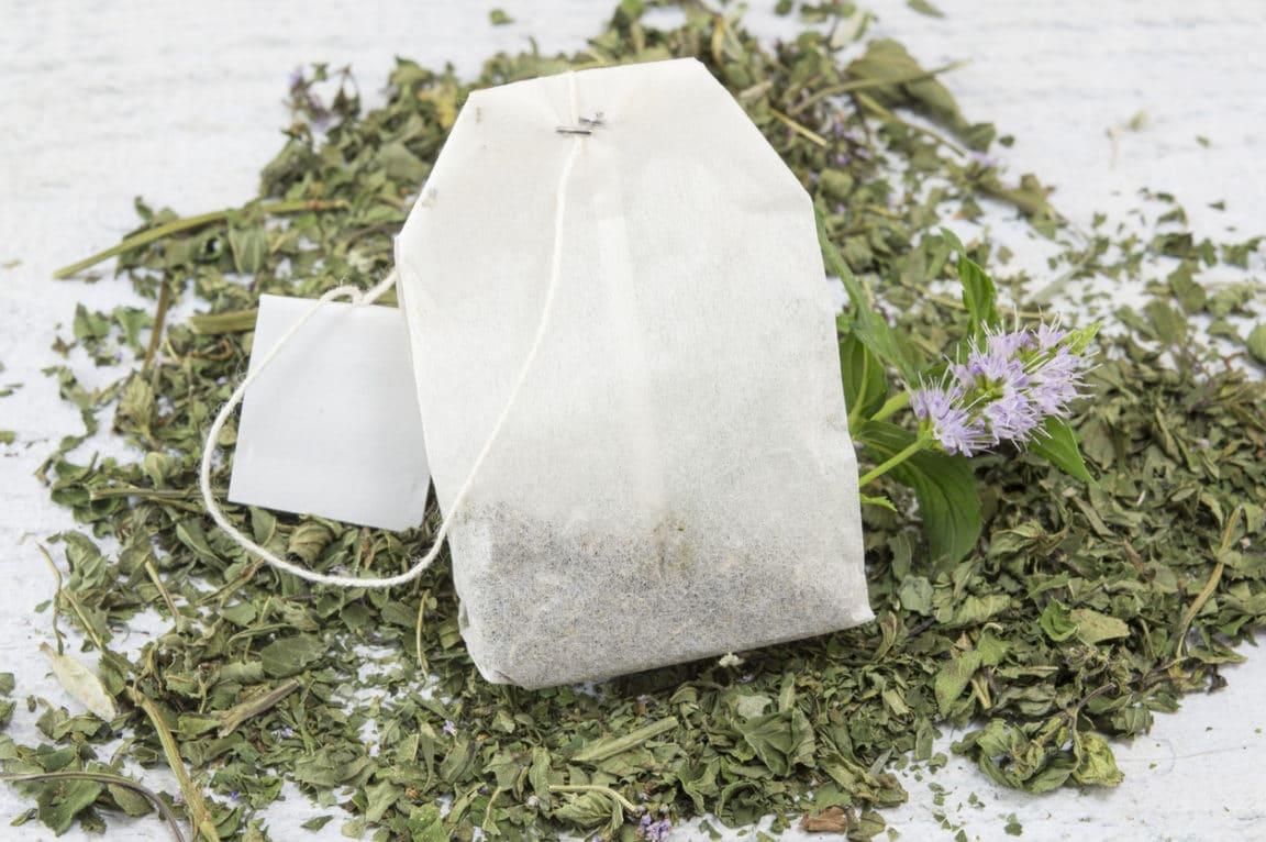 sachets de thé jardin