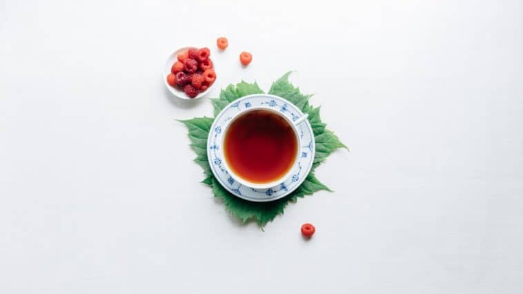 plante de France tisane infusion aux fruits framboises