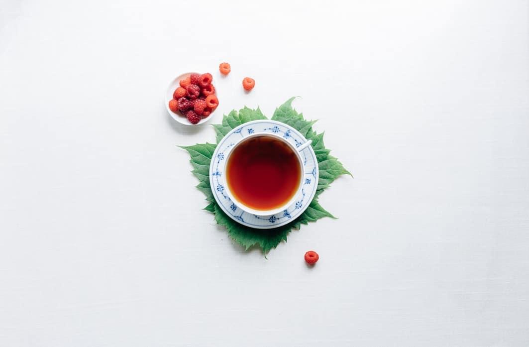 plante de France tisane infusion aux fruits framboises