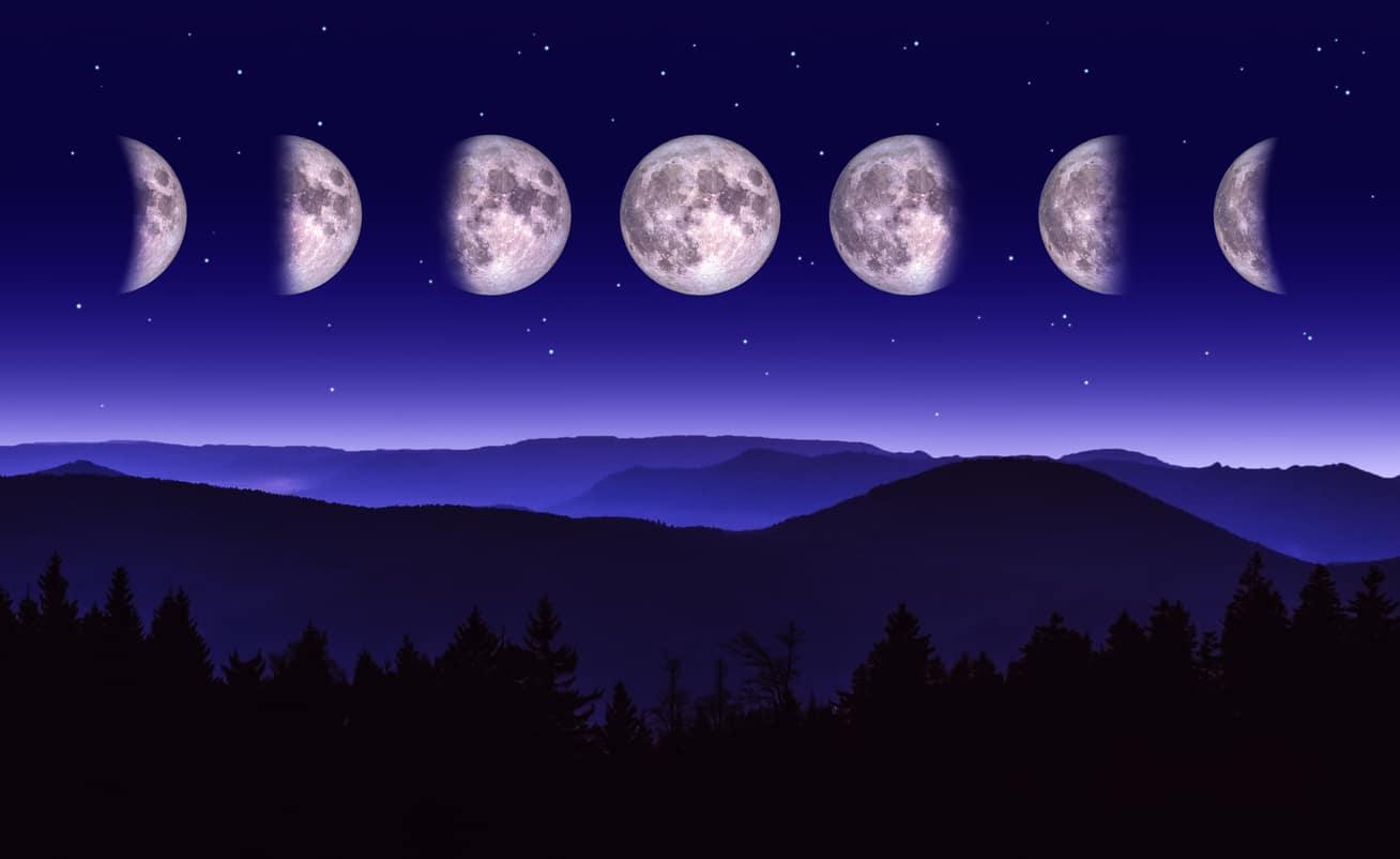 calendrier lunaire lune