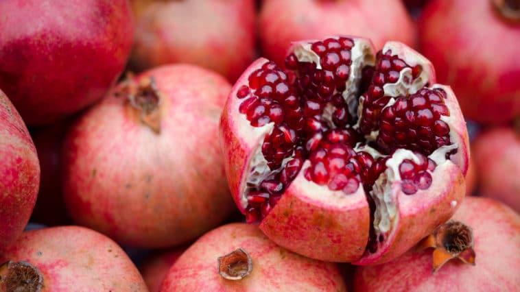 grenade fruit arilles graines