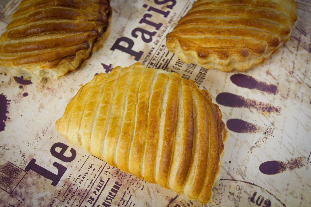 chausson aux pommes feuilleté chocolat patate douce