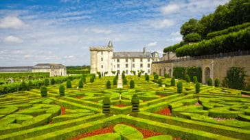 Villandry Chateau jardin