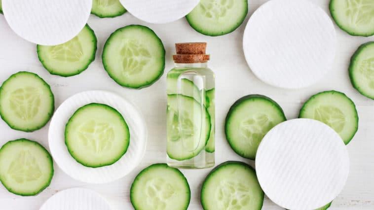 concombre cosmetique beaute
