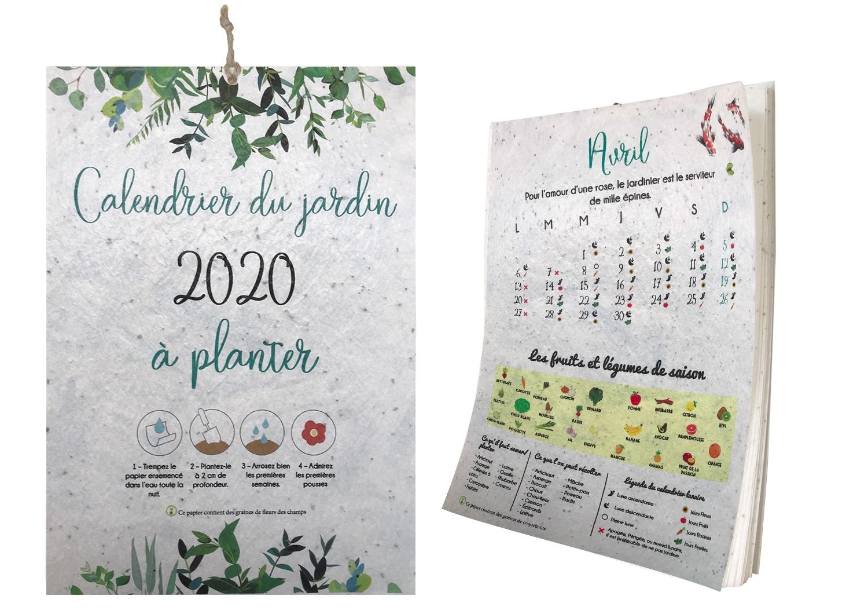 Calendrier du jardin à planter   Jardiner facile