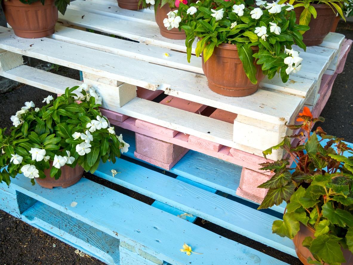 palettes couleurs jardin