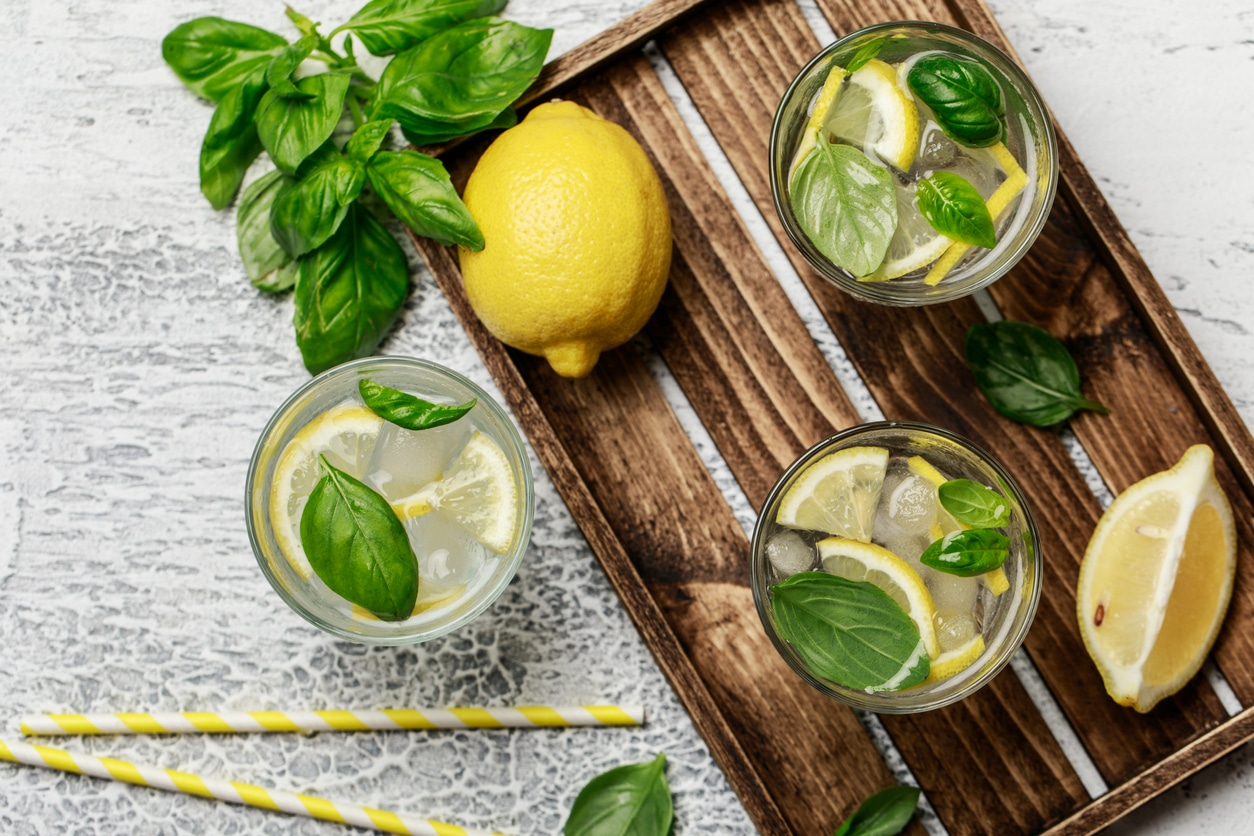 citron basilic citronnade