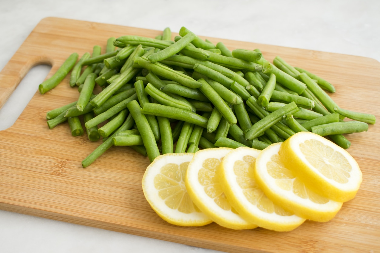 haricots verts citron