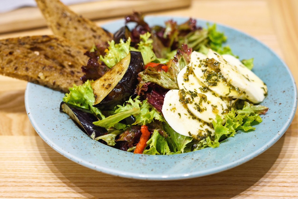 salade d'aubergines