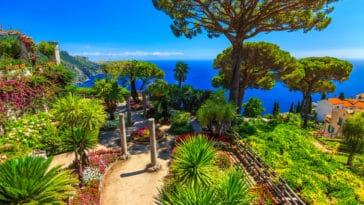 jardin bord de mer