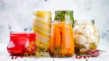 conservation conserver légumes confiture
