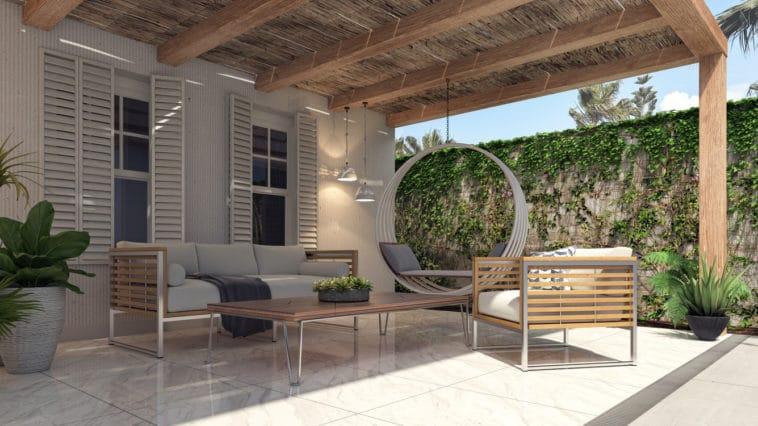 salon jardin exterieur