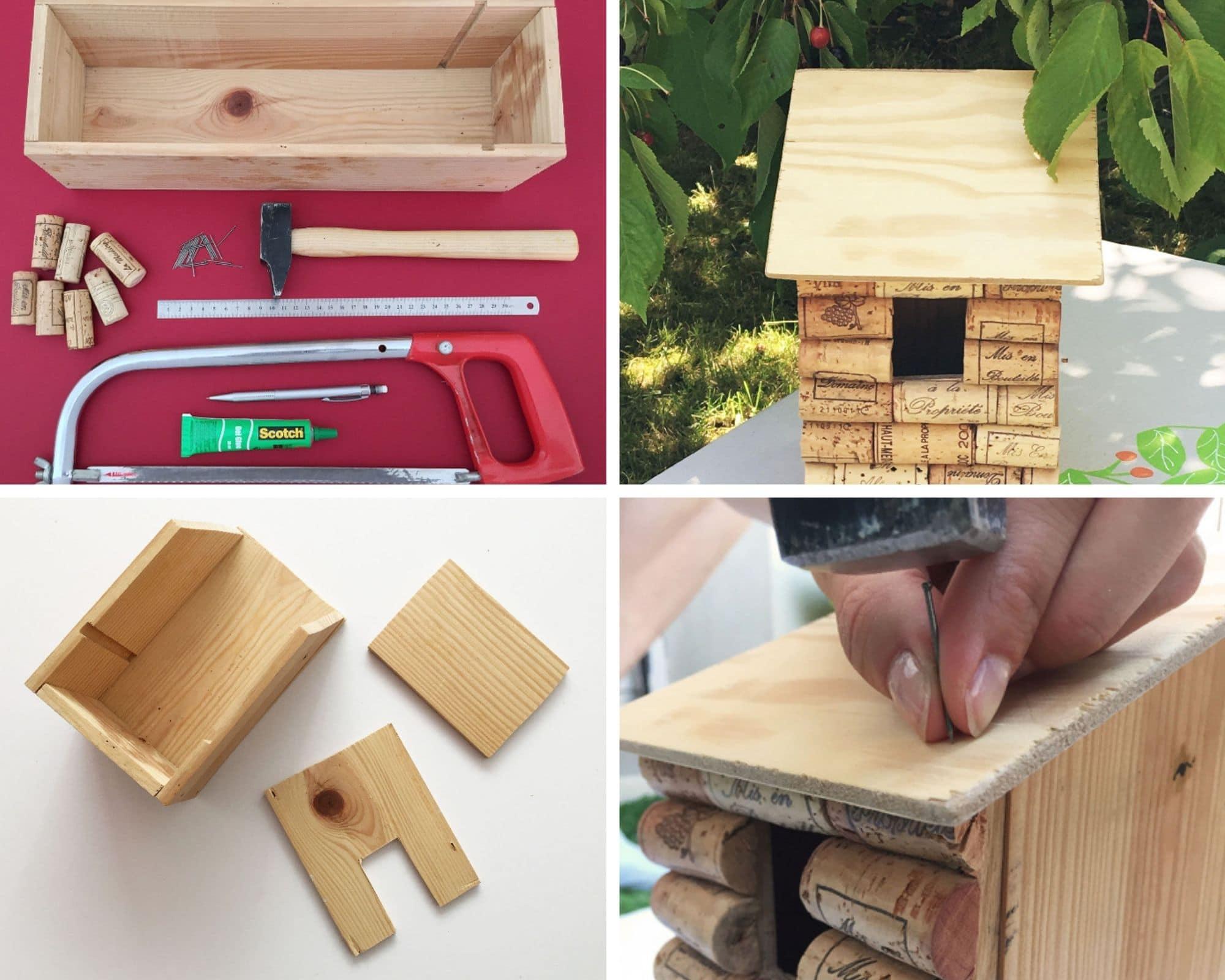 abri oiseaux cabane