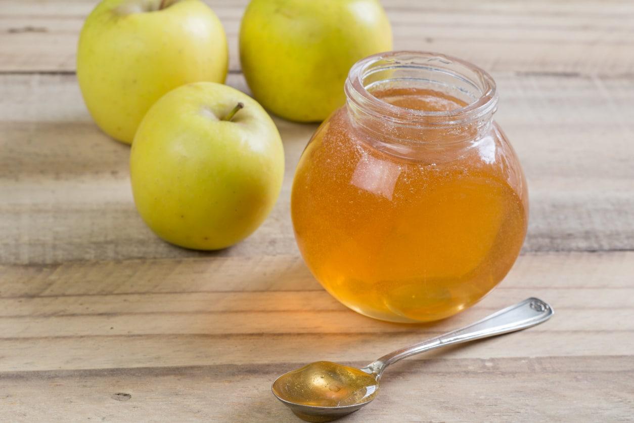 gelée pomme
