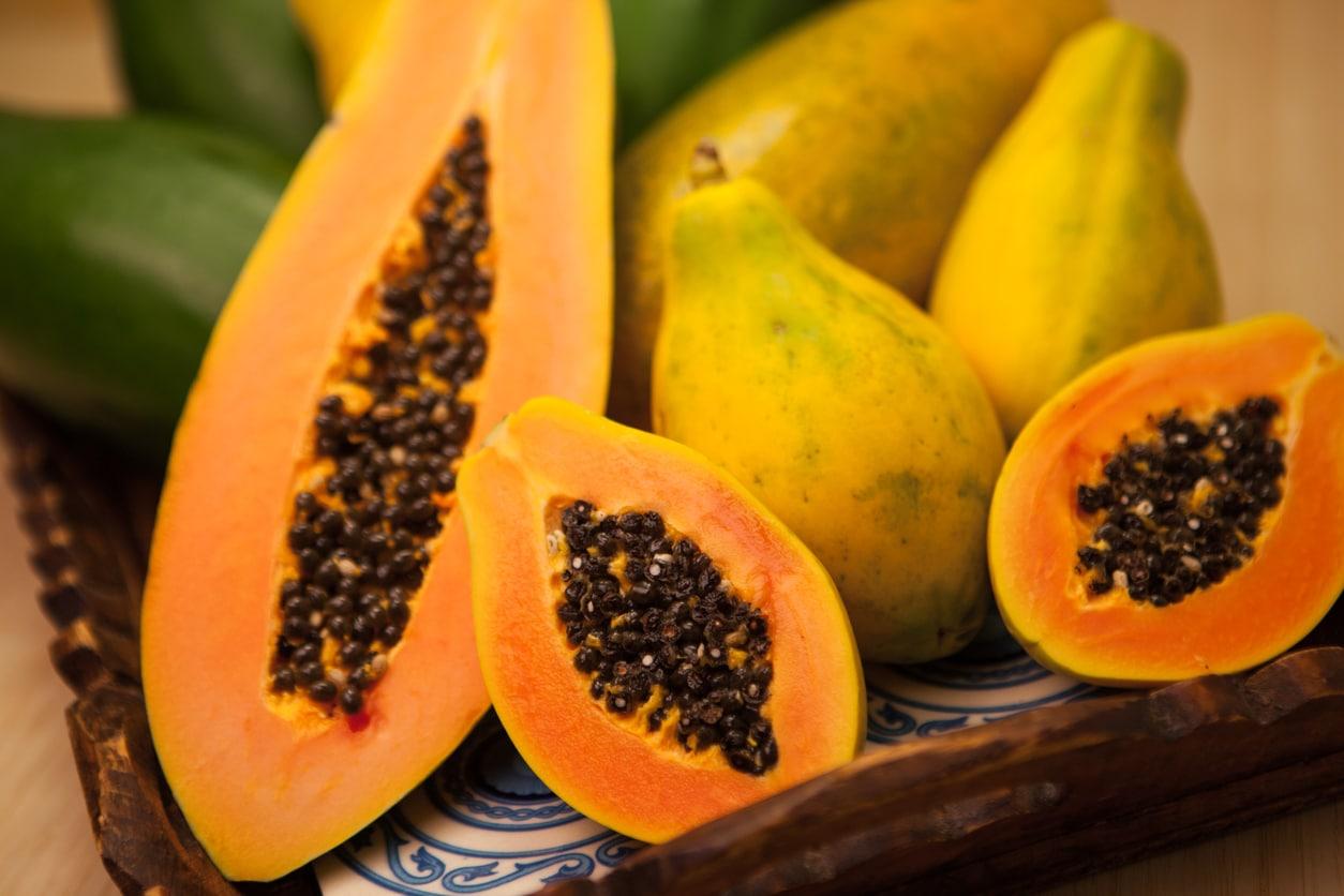 papaye fruits