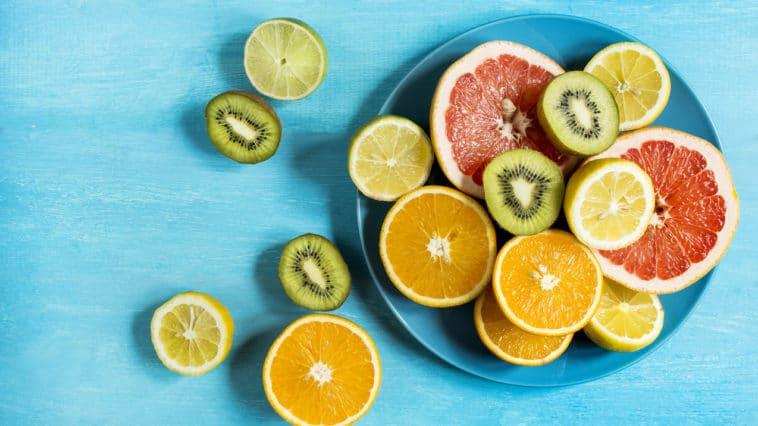 fruits hiver kiwi orange
