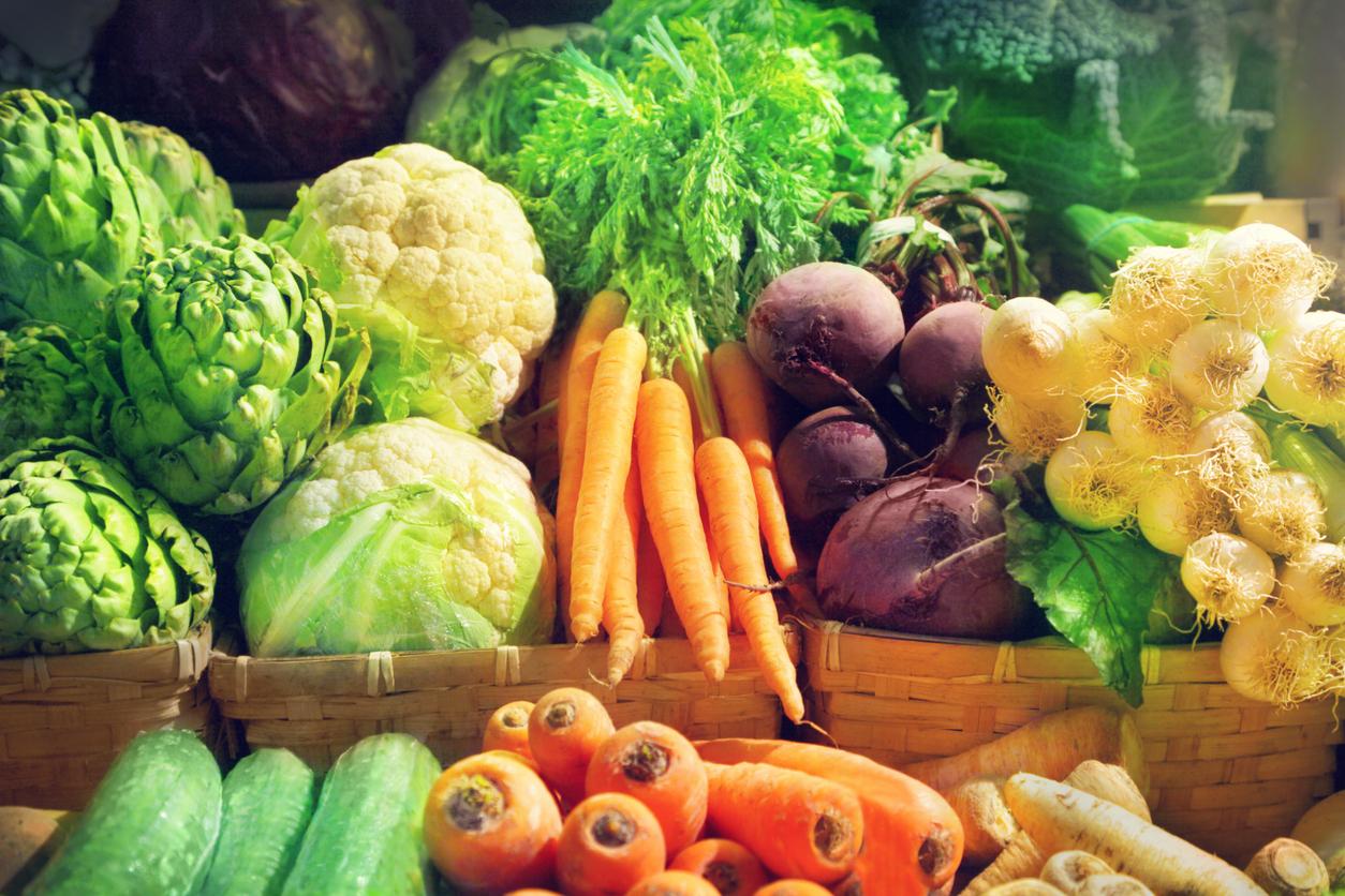 fruits de légumes de saison