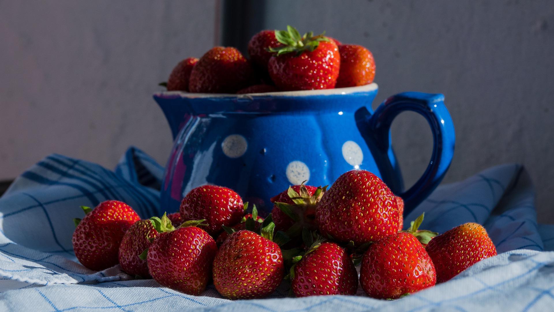 fraises cherry berry