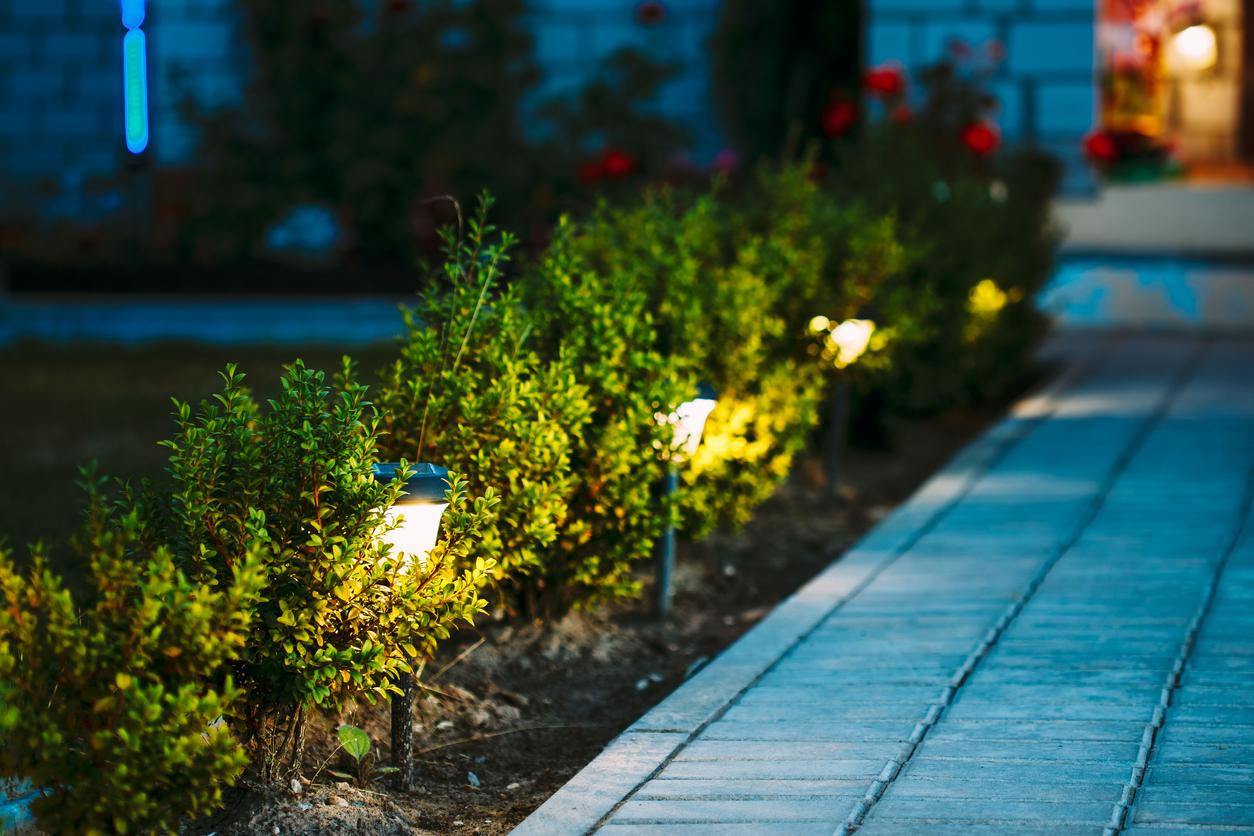 énergie jardin lumière éclairage