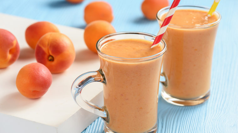 smoothie abricots